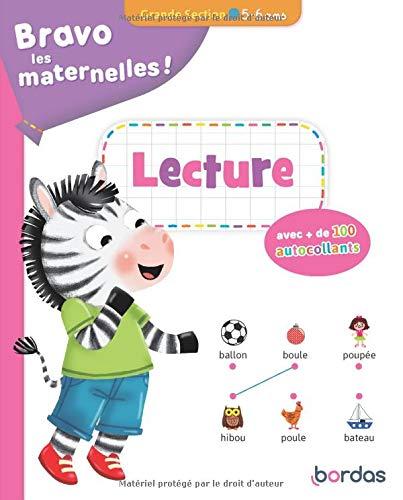 Bravo les maternelles - Lecture Grande section + autocollants - dès 5 ans