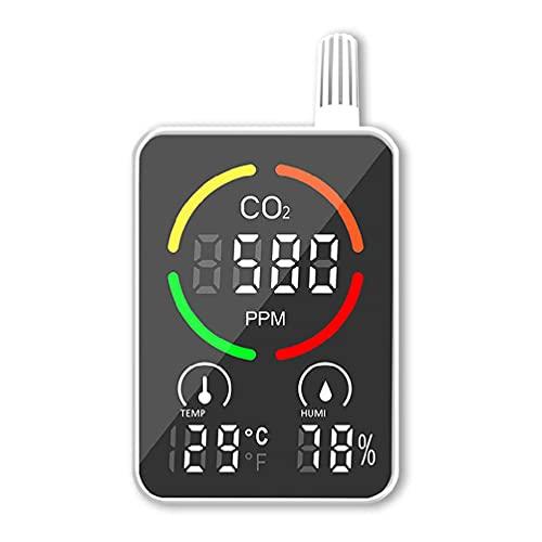 Detector de dióxido de carbono inteligente, monitor de calidad del aire, medidor de CO2 para la habitación del bebé en casa
