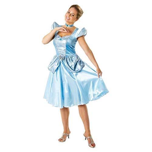 Rubie's-déguisement officiel - Disney- Déguisement Costume Cendrillon Adulte - Taille L- I-880515L