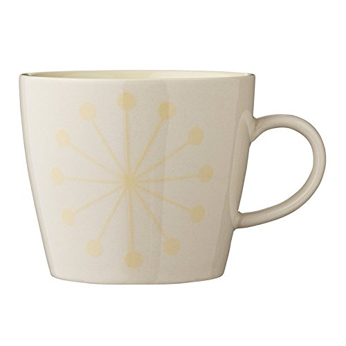 Bloom ingville Alberte Multicolore Tasse jaune