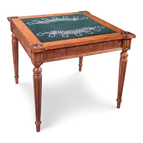 Butler Specialty Company Multi-Game Card Table, Antique Cherry
