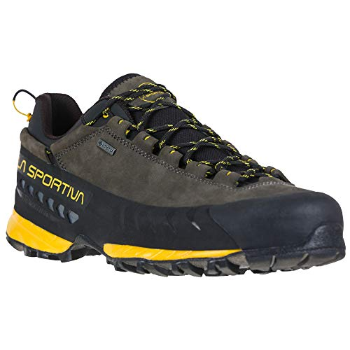 Zapatillas de trekking para hombre de la marca LA Sportita. TX5 Low GTX, color Negro, talla 47 EU
