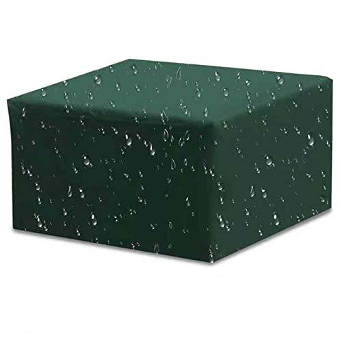 ZCED Funda Muebles Jardín Cubierta De Protección para Mesa Muebles Mpermeable 210D Oxford para Sofa De Jardin Patio Al Aire Libre,Green-213x132x70cm(84x52x28in)