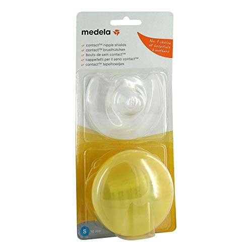 MEDELA Brusthütchen Contact S m.Aufbw.Box 2 St