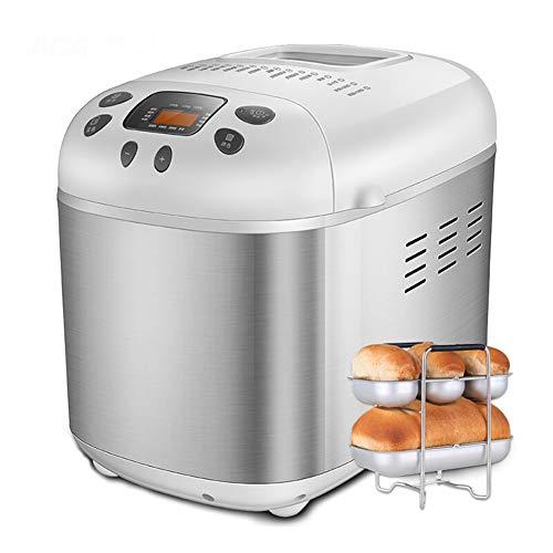 Toaster, benutzerdefiniertes Backen 1500g große Kapazität automatische Hausreservierung Timer Edelstahl Frühstücksmaschine Brotbackautomat