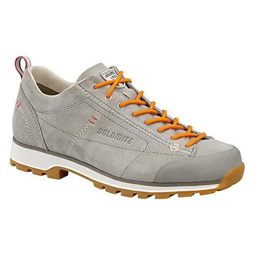Dolomite Unisex-Erwachsene Zapato Cinquantaquattro Low W Trekking- & Wanderhalbschuhe, Grauer Tortora/Lachs, 42 EU