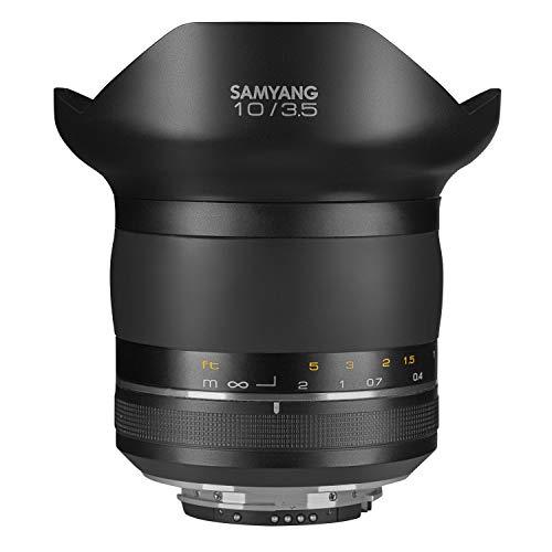 Samyang XP 10mm F3.5 Nikon F - manuelles Ultraweitwinkel Objektiv, 10 mm Festbrennweite für Nikon Vollformat & APS-C Kameras mit F Anschluss, für F-Serie, ideal für Natur- und Architekturaufnahmen