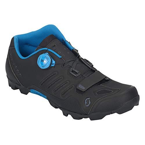 Scott MTB SHR-Alp RS Fahrrad Schuhe schwarz/blau 2021: Größe: 44