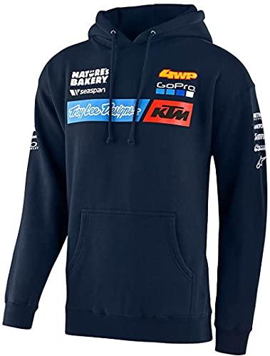 Troy Lee Designs Hoody KTM Team Blau Gr. L