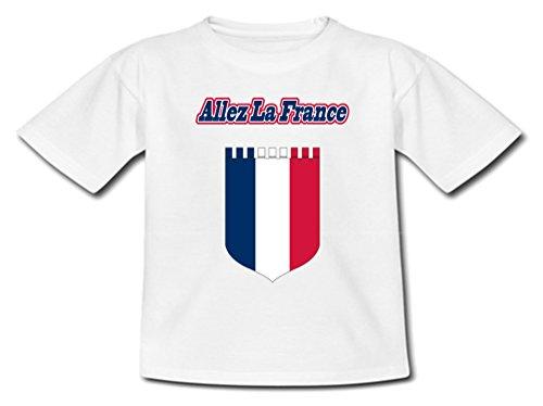 YONACREA - T-Shirt Bébé - France - Euro 2016-12 Mois