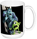 Monstruos S.A. Monsters Inc B Taza Grande Ceramica 15 oz ≈ 443 ml