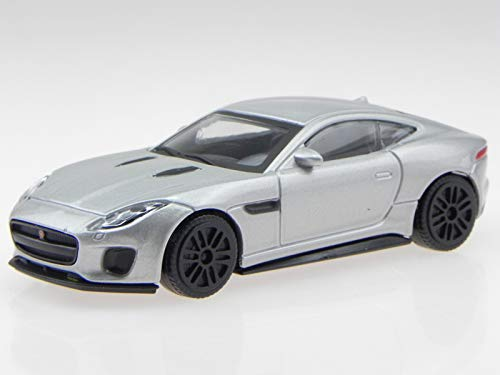 mächtig Jaguar F-Typ R Silber Auto Modell 30383 Bburago 1:43