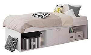 Low Sleeper Kids Cabin Storage 2 Niche Single 3ft Bed