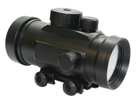 G8DS® Leuchtpunktvisier für Softairwaffen und Armbrüste Red Dot Rotpunkt - Leuchtpunkt - Visier mit 22 mm Weaver