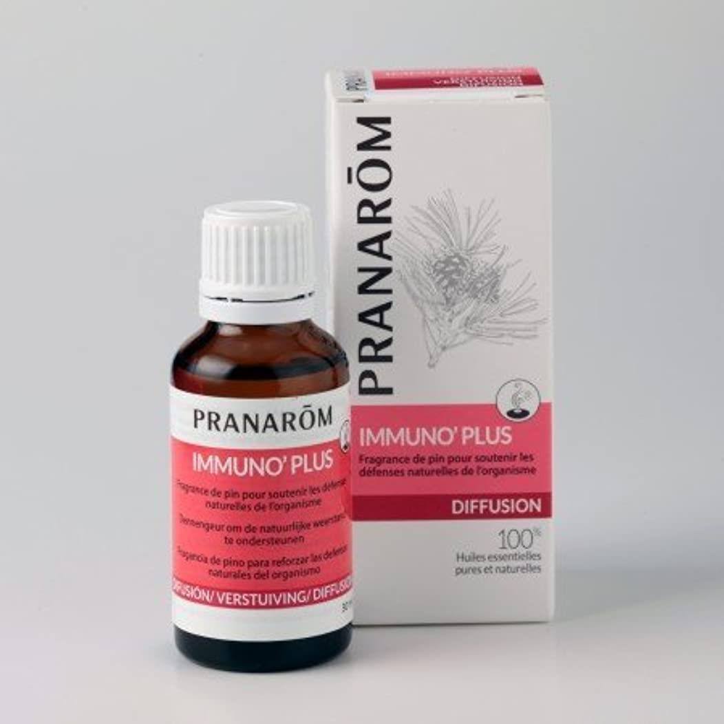 ガジュマル楽しい好ましいプラナロム (PRANAROM) ルームコロン パワーアップ&チアアップ イミュノプラス 30ml 02589 エアフレッシュナー (芳香剤)