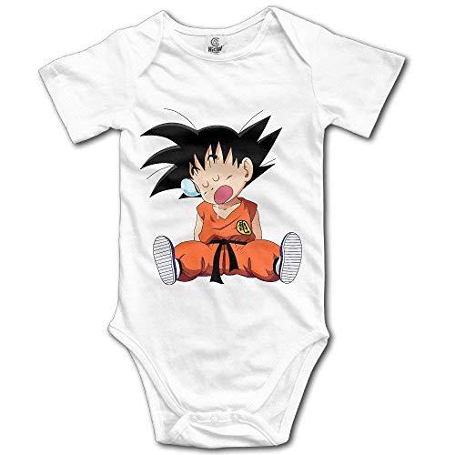 Cute Cartoon Dragon Ball Z Kid Goku Newborn Baby Onesie Baby Outfits 0~3M
