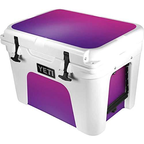 Skinit Decal Skin Compatible with YETI Tundra 35 Hard Cooler - Originally Designed Purple Ombre Design