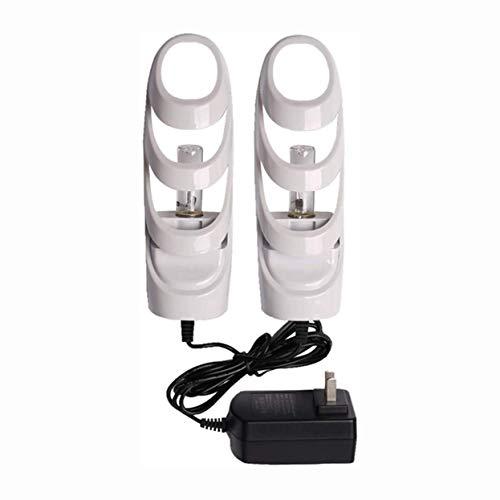 Secador de zapatos Calzado Zapato secadora eléctrica Bota de esquí del calentador del calentador Footwears portátil con temporizador UV y el ozono Esterilización Desodorante de secado for los guantes