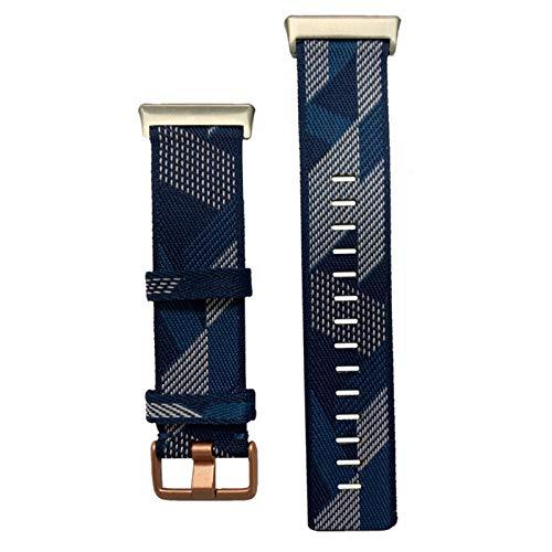 KADIWOAD Pulsera de la Correa de la muñeca de 2020 Nylon para el Reloj OPPO 46mm Banda DE Reloj Suave CURANTE TRILLAS DE CULTIVAS TRANSPURTADAS para OPPO (Color : Blue)