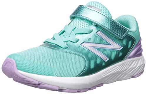 New Balance Girls' Urge V2 FuelCore Running Shoe, Tidepool/Dark Violet, 7.5 M US Toddler