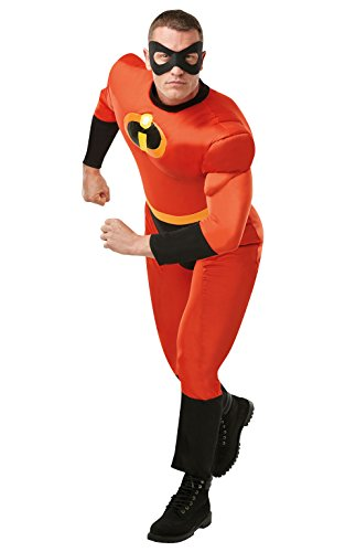 Rubie's Disney 2 Mr Incredible 820911STD Costume de luxe pour adulte, homme, taille M