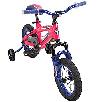 Huffy 12-inch Kids Bike with Training Wheels for Girls Pink Small  22919