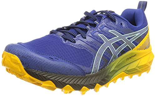 ASICS Gel-Trabuco 9, Zapatos para Correr Hombre, Monaco Blue/Clear Blue, 46 EU