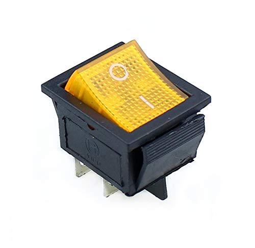 TUANZI 10 PC Rocker Interruptor de ON-Off 2 Posición Equipo de 6...