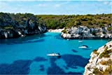 N\A Puzzle Jigsaw 1000Pc Puzzle Puzzle para Niños Adultos - View of Macarelleta Beach In Menorca Balearic Islands Spain Jigsaw Puzzle Toy Juguete De Educación Temprana