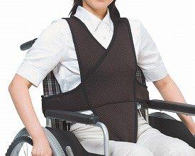 車椅子ベルト M ブラウン 4010 (特殊衣料) (車いす用小物)