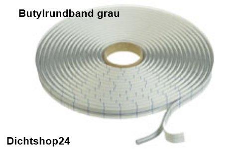 Butylband Butylrundband 6mm x 7m Dichtband Dachluke Butyl Caravan KFZ