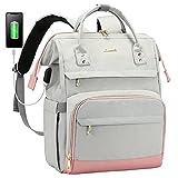 Laptop Backpack for Women Work Backpack Purse Travel Bookbag Nurse School Bag