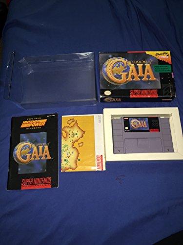 ILLUSION OF GAIA NINTENDO SNES NTSC-USA