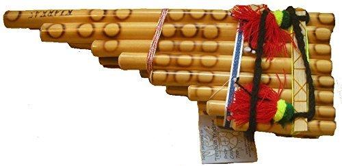 Flauta de tubo tradicional