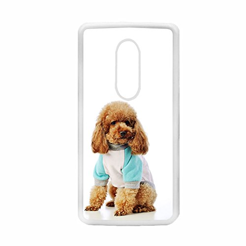 Tyboo Shell Rigid Plastic Man For Zte Axon7 Mini Print Teddy Poodle Dog Kawaii