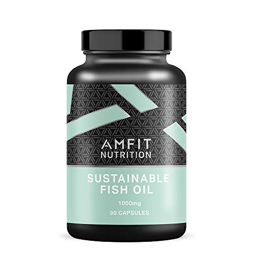 Amazon Brand - Amfit Nutrition Sustainable fish oil, 90 capsules, 1000 mg