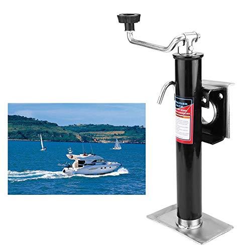 2000 lbs Trailer Jack Anhänger Jack Anhängerstütze Stützfuß Kurbel-Stütze Schwenkstütze Abstellstützen für Boote, Yachten, 1pcs