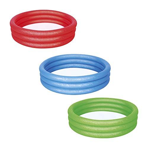 Bestway Splash and Play Three Ring Play Paddling Pool - Multi-Colour