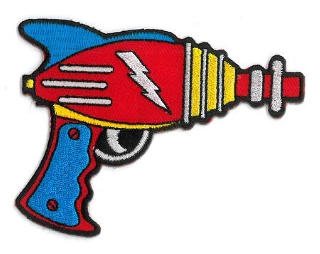 MATT Stewart, RAY Gun - Embroidered Iron On Patch, Licensed Original Artwork, 3.5