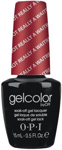 OPI Gel Color - I'm Not Really A Waitress 15ml - Soak Off Gel Lacquer by OPI (English Manual)