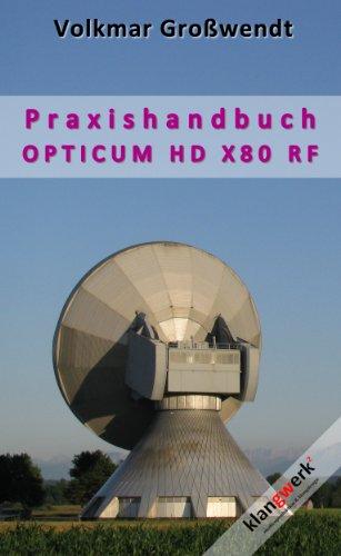 Bedienungsanleitung Opticum X80 (RF)