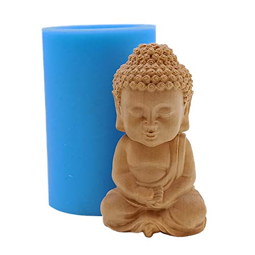 Buddha Design Silicone Candle Mold Silicone Mould for Candle Making Decorating Chocolate Molds Resin Crafts Gypsum Silicone Molds