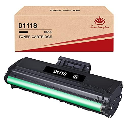 Toner Kingdom Sostituzione della Cartuccia del Toner Compatibile per Samsung MLT-D111S 111S D111S per Xpress M2070 M2070FW M2026W M2026 M2070W M2020 M2022 M2020W M2022W (1 Nero)