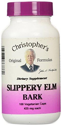 Dr Christopher's Formula Slippery Elm Bark, 100 Count