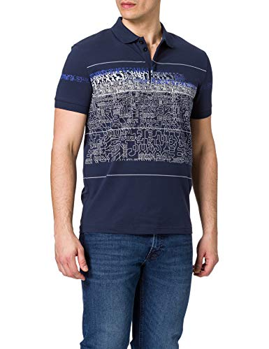 BOSS Paddy 5 Polo, Navy410, L Homme