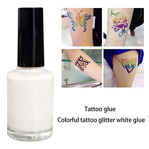 Further Aufkleber für Korporenkleber, für Pailletten oder temporäre Tattoos, ideal für Kinder, Mädchen, Jungen, Erwachsene, Abende, Geburtstage, Kosmetik, Make-up, Cosplay