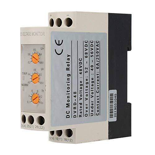 Überspannungsschutz Unterspannungsschutz Überwachungsrelais Leistungsschalter Einstellbares Steuermodul DC 12V/24V/36V/48V(DC48V)