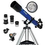 Meade Instruments Infinity 70mm Refractor Azul - Telescopio
