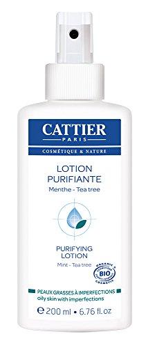 Cattier Loción purificante con Árbol del té - 200 ml
