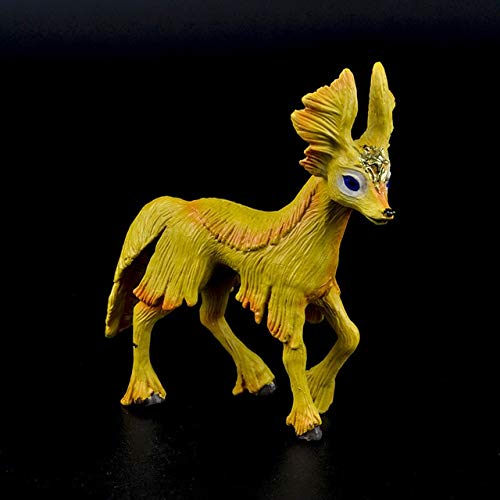 Origineel echt sprookje mythisch dier Elven mini kleine vlieg eenhoorn paard figuur model Wilde figuren kinderbeeldje, vliegend paard sprong